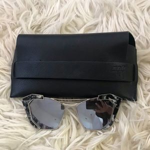 Melt mirror gray sunglasses